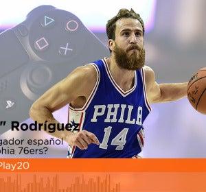 El jugador de la NBA, Sergio 'el Chacho' Rodríguez, en EuroPlay