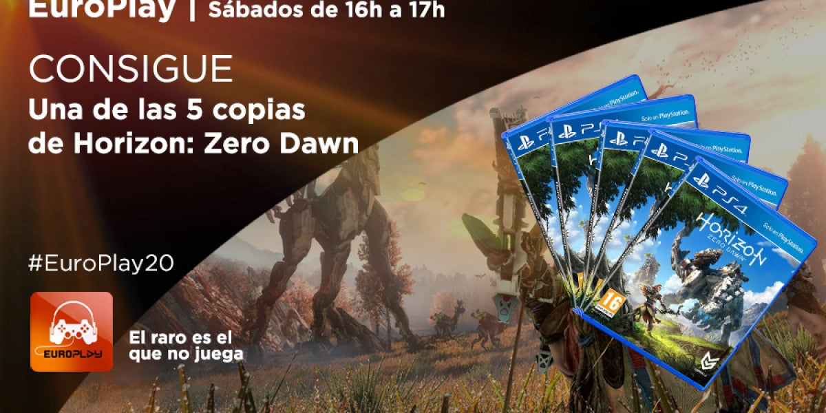 Concurso Europlay | Consigue una copia de Horizon: Zero Dawn