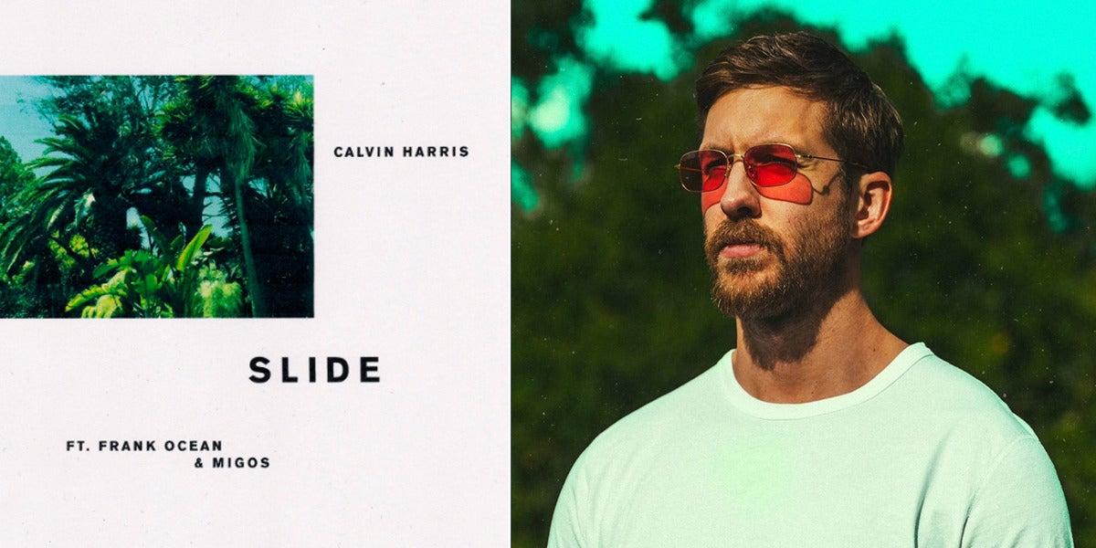 Slide, lo nuevo de Calvin Harris