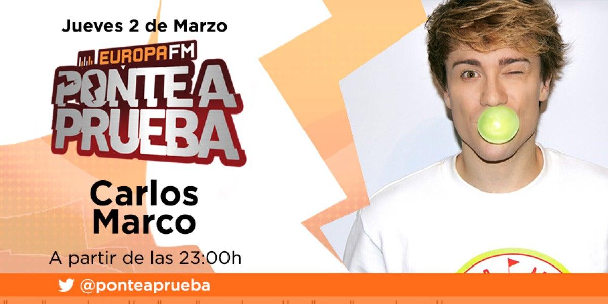 Carlos Marco en Ponte A Prueba