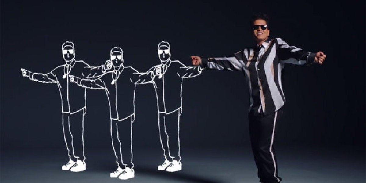 Bruno Mars en That's What I Like