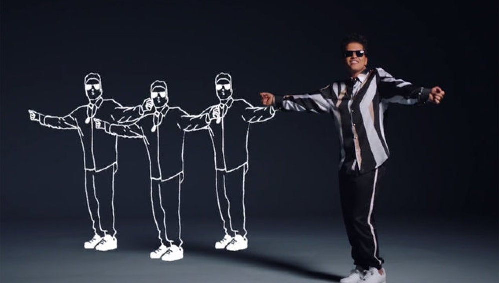 Bruno Mars en That's What I Like