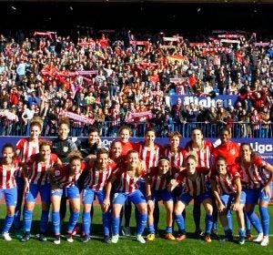 El Atlético de Madrid femenino