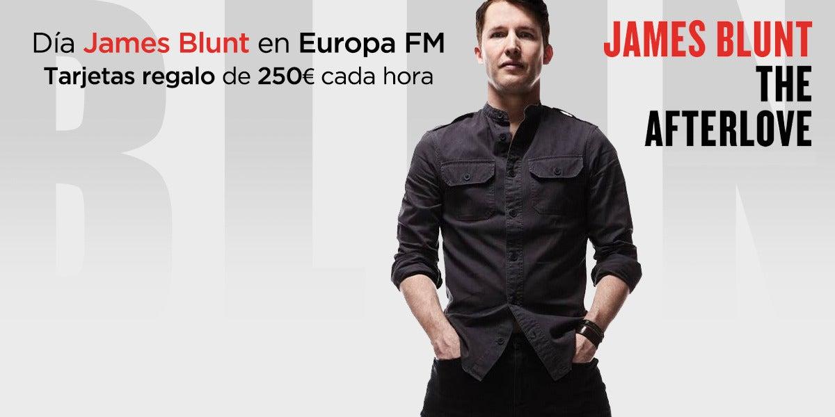 Día James Blunt en Europa FM
