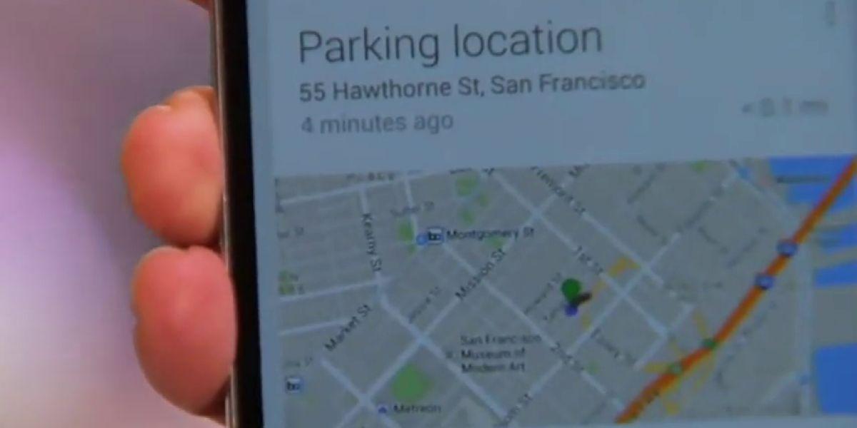 Frame 15.283708 de: Encontrar el coche ahora es más fácil gracias a la nueva función de Google Maps