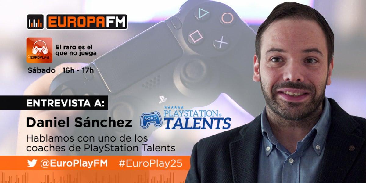 Daniel Sánchez, coach del programa PlayStation Talents
