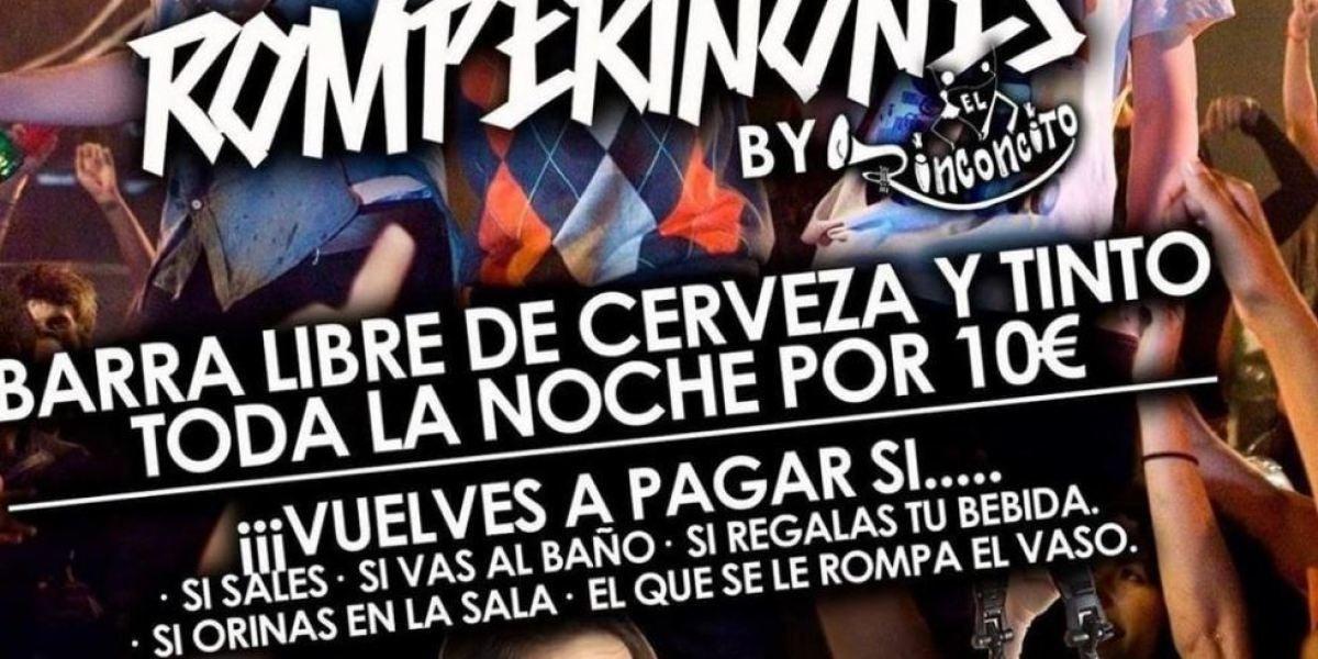 Barra libre en una discoteca de Cuenca