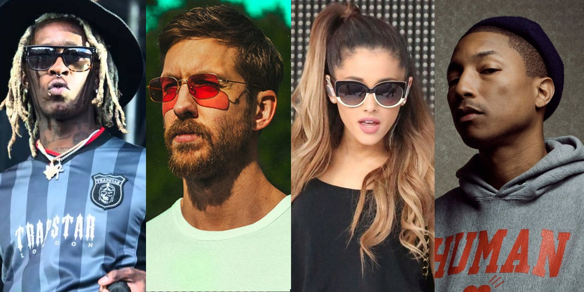 Calvin Harris, Ariana Grande, Pharrell Williams y Young Thug lanzan 'Heatstroke'