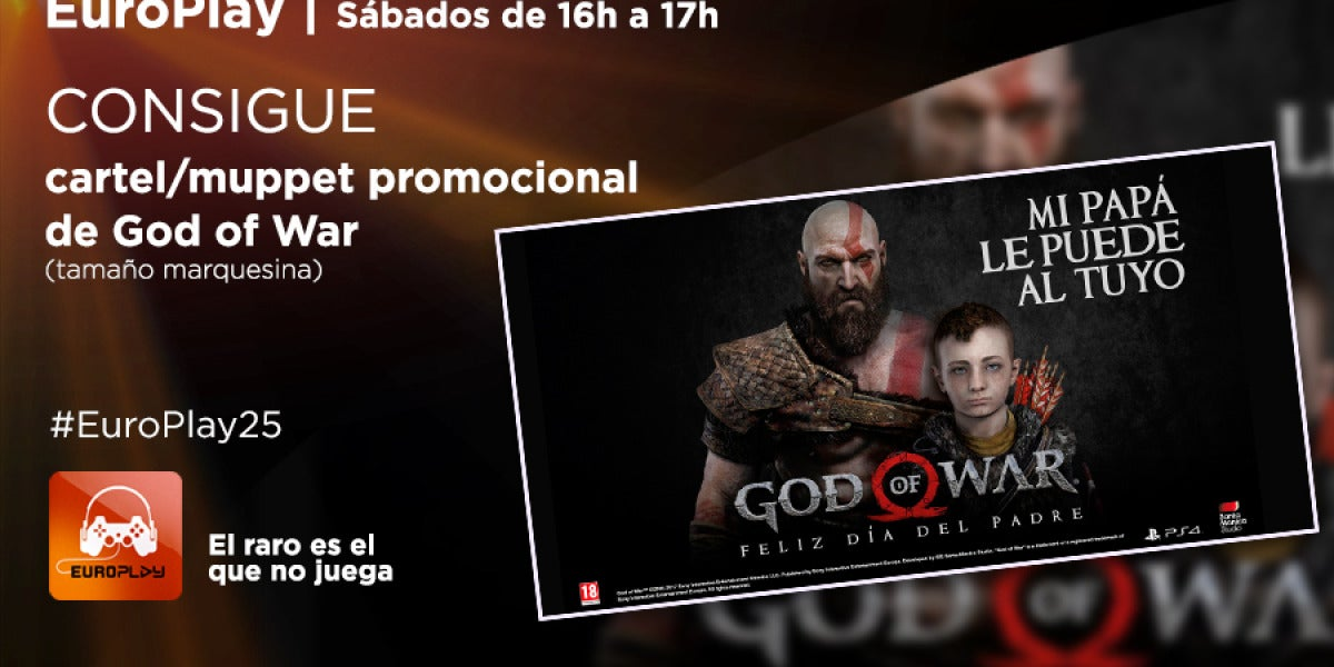 ¡Consigue un cartel de God of War!