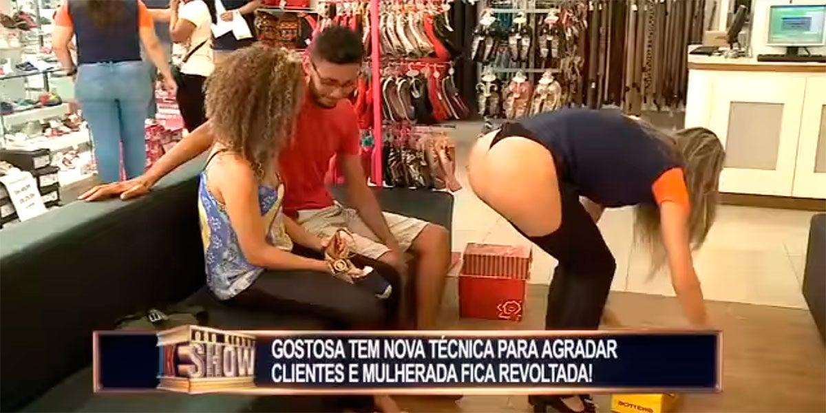 Broma del programa João Kléber Show