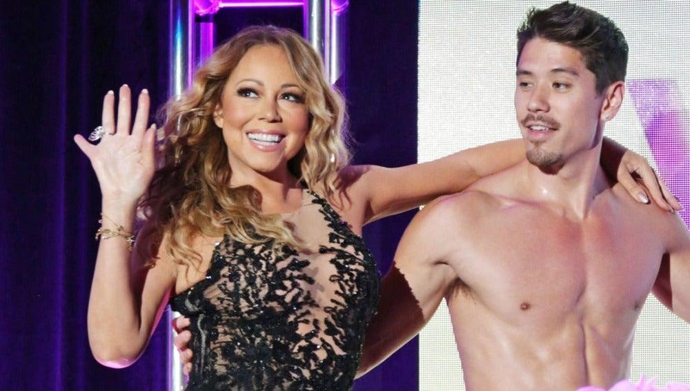 Mariah Carey y su ex novio Bryan Tanaka