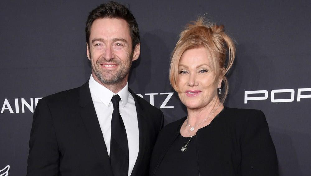 Hugh Jackman y su esposa Deborra-Lee Furness