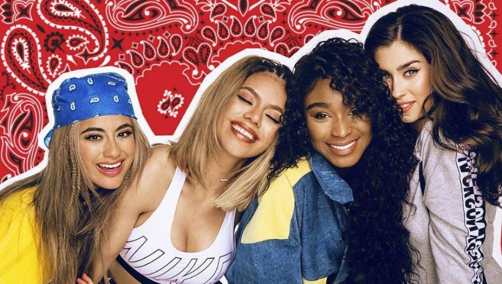 Fifth Harmony en su primera sesión como cuarteto