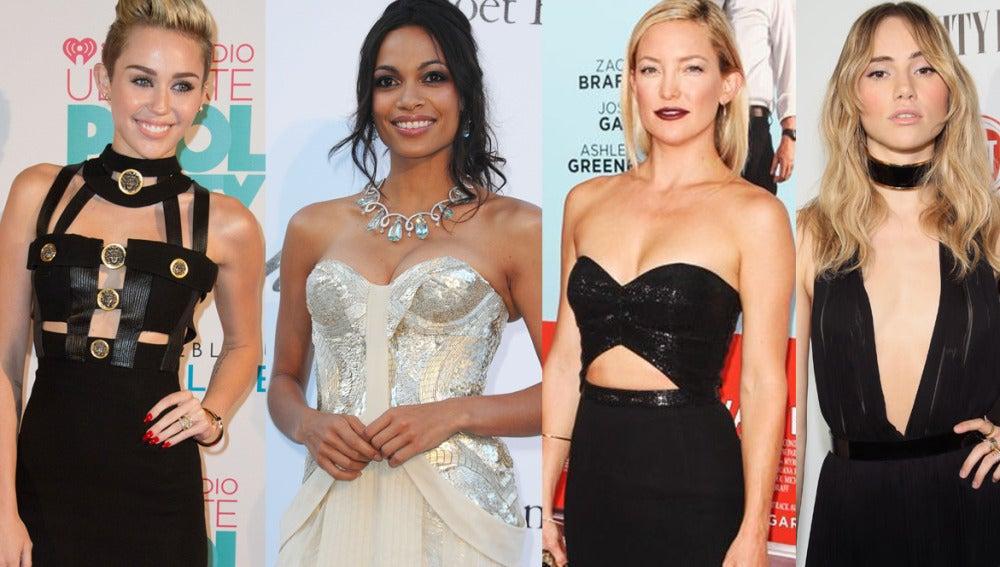 Miley Cyrus, Rosario Dawson, Kate Hudson y Suki Waterhouse, las nuevas víctimas del celebgate