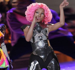 Nicki Minaj y su doble Awra Briguela