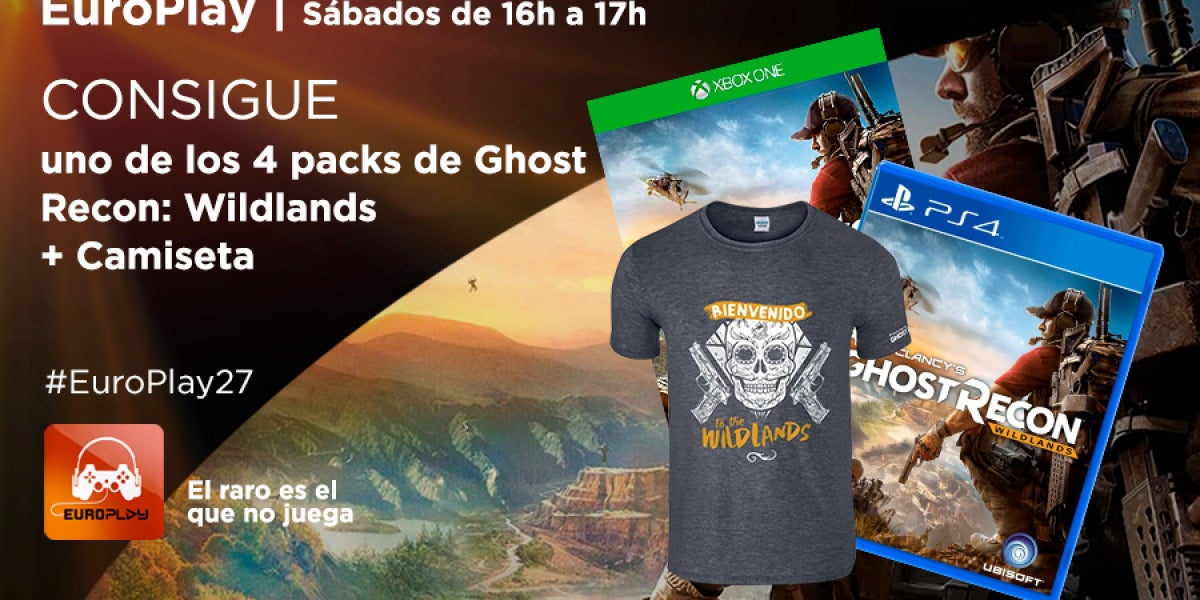¡Consigue un pack de Ghost Recon: Wildlands!