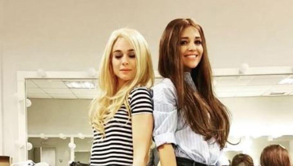 Paula Echevarría y Marta Hazas dan vida a Sonia y Selena