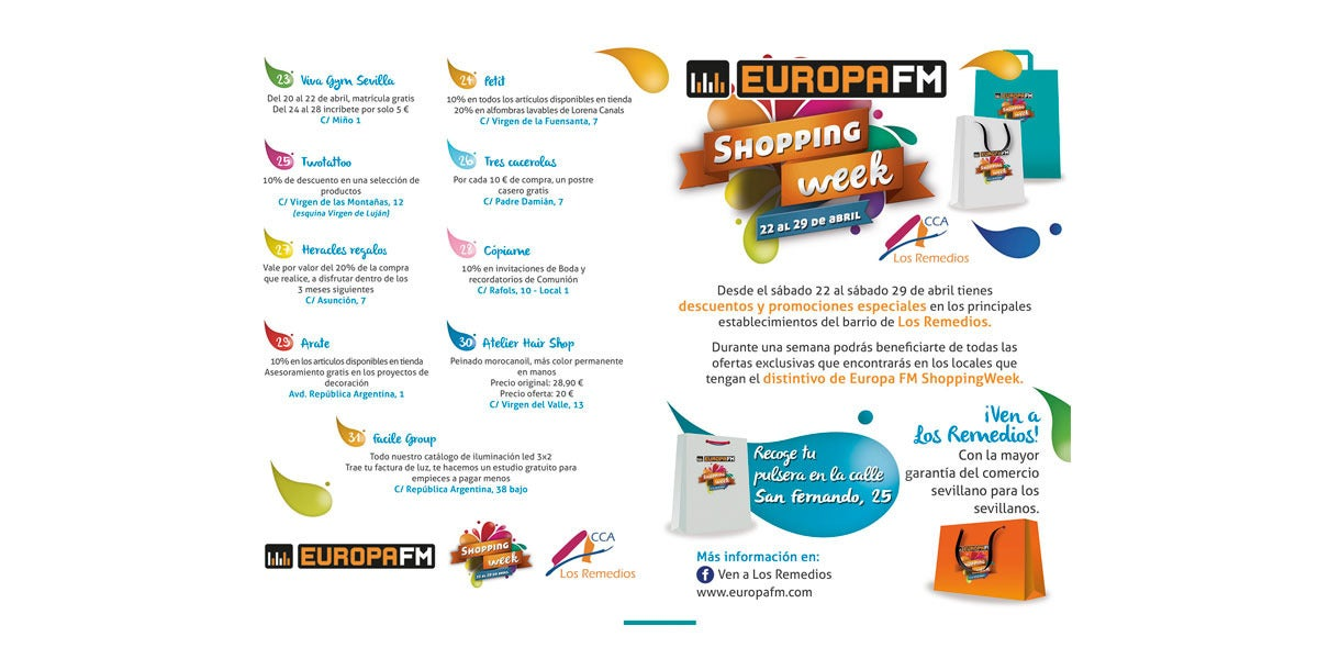 Europa FM Shopping Week en Sevilla