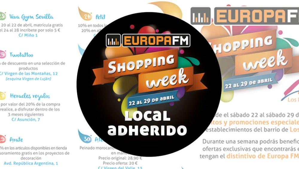 Europa FM Shopping Week en Sevilla