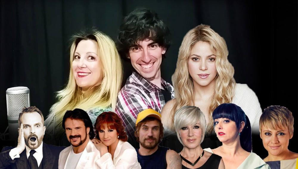 """""""Me enamoré"""", el nuevo éxito de Shakira, cantado a 24 voces famosas por Nacho Lozano y Chely Capitán"""