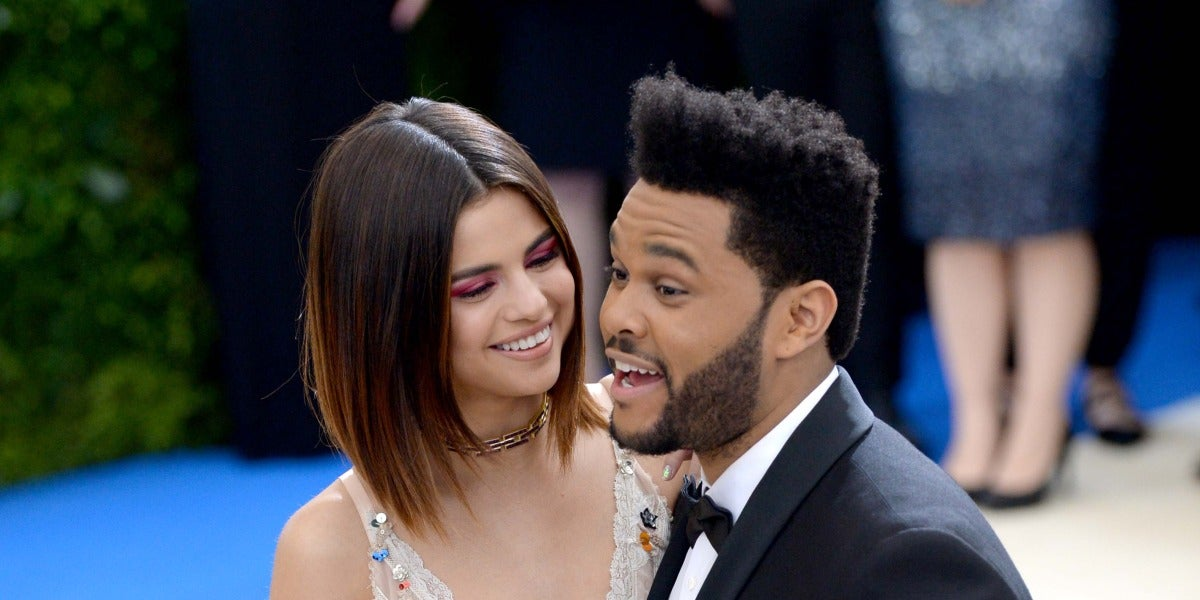 Selena pone ojitos a The Weeknd
