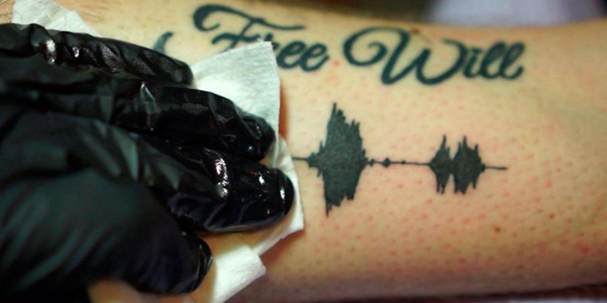 Tatuaje de Soundwave Tattoos de Skin Motion