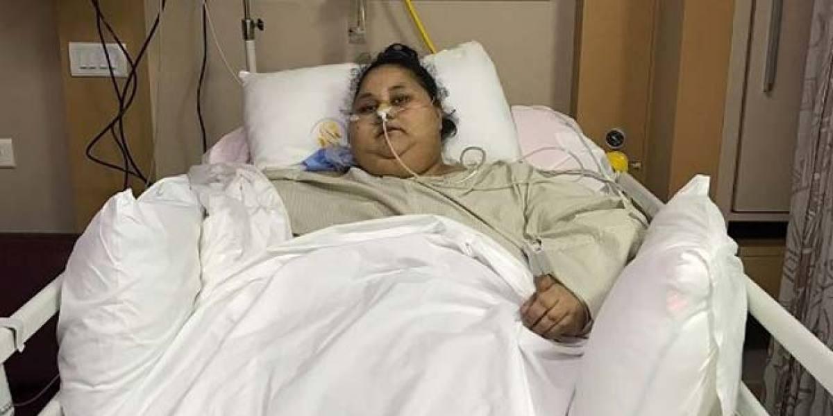 Eman Ahmed se enfrenta a un tratamiento médico