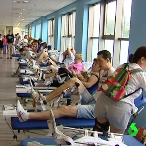 Sala de rehabilitación de un centro sanitario público
