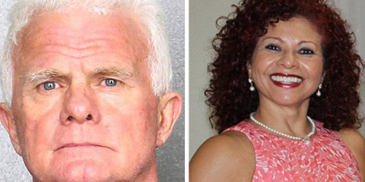 El acusado y su novia fallecida