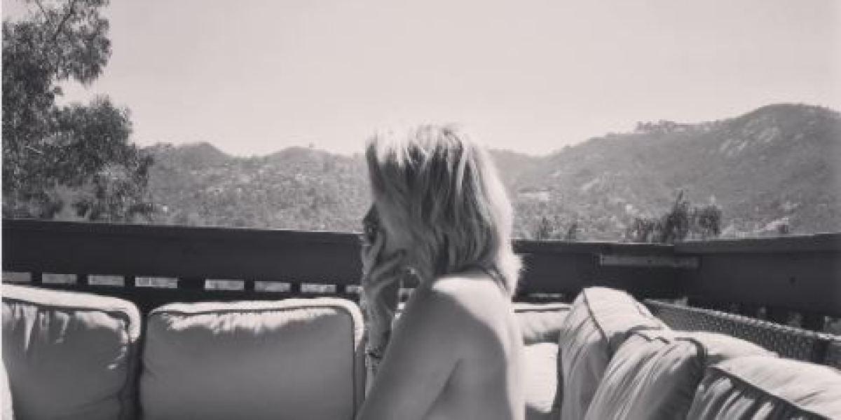 Paris Jackson se desnuda en Instagram