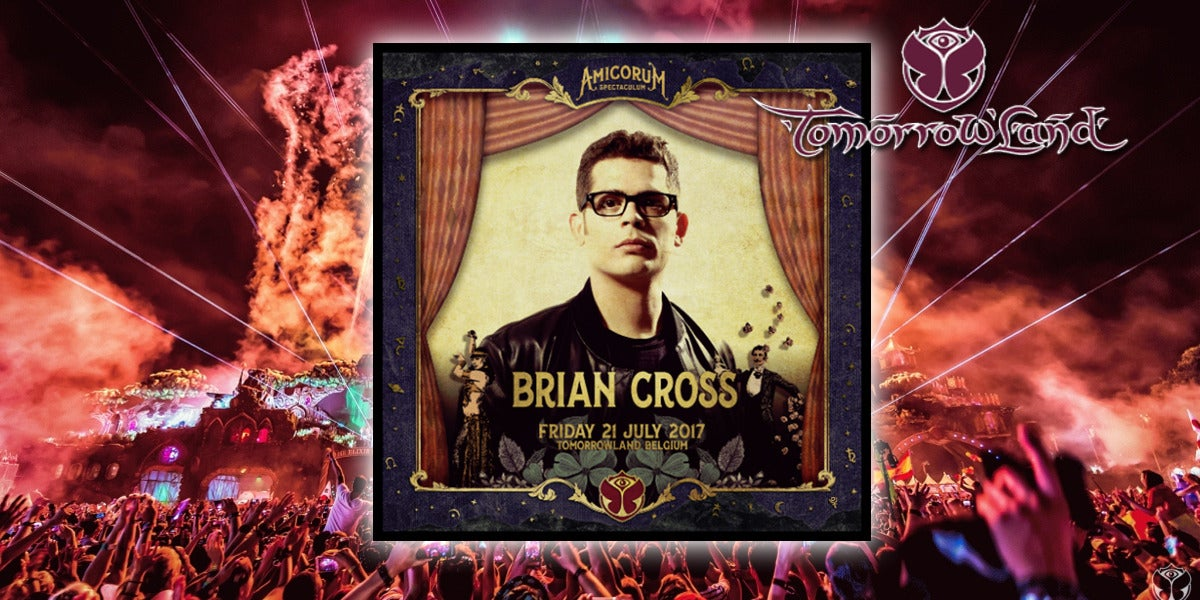Brian Cross actuará en Tomorrowland 2017