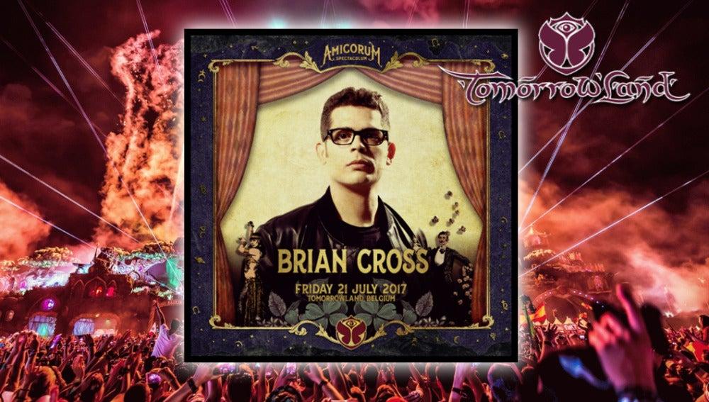 Brian Cross actuará en Tomorrowland 2017