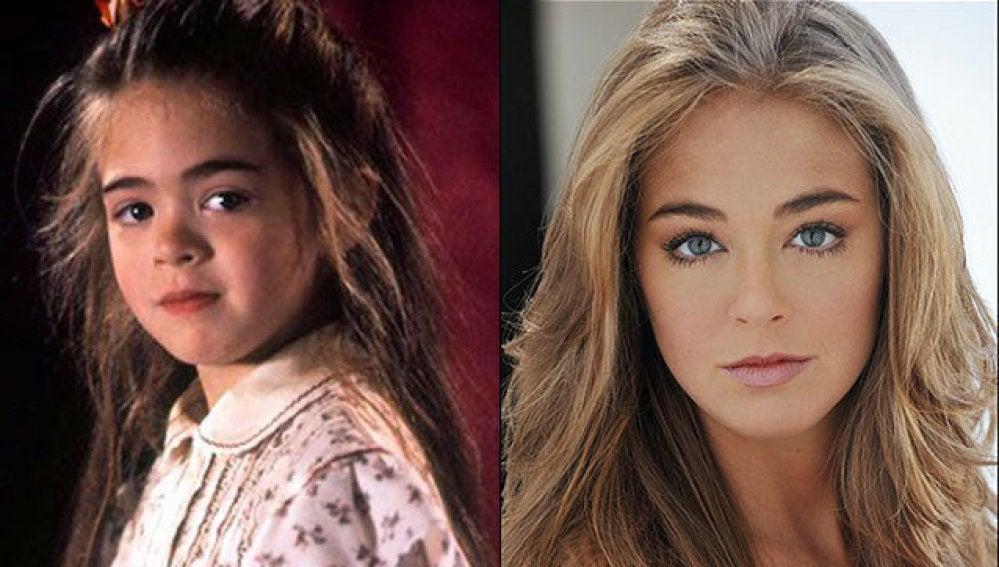 Así ha cambiado Amber Scott 25 años después