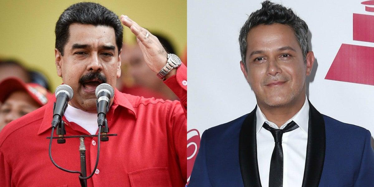 Alejandro Sanz carga contra Nicolás Maduro