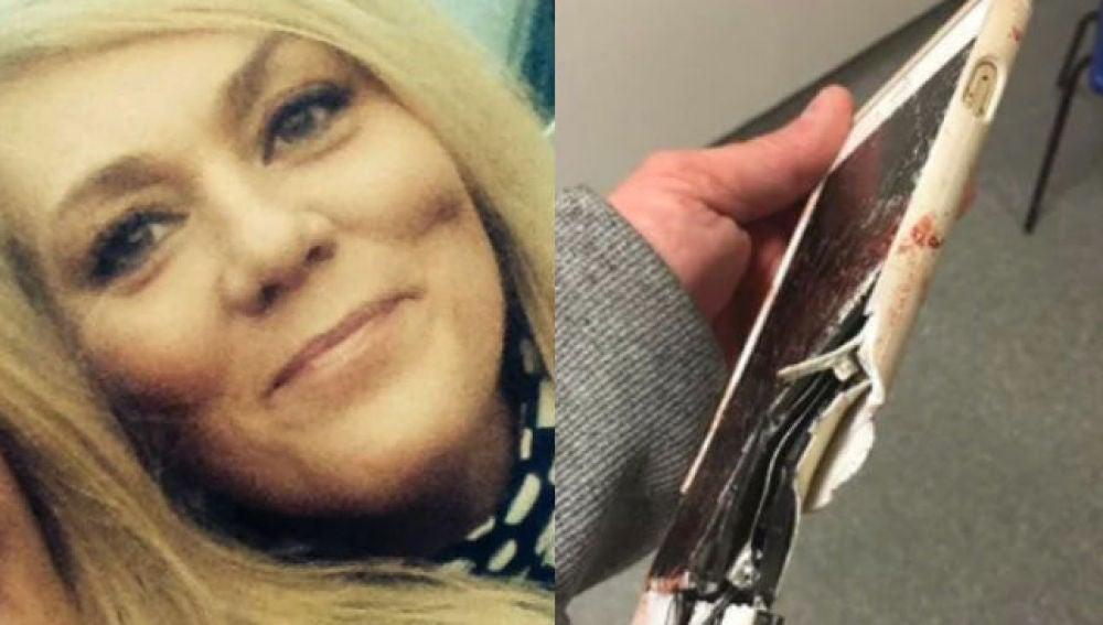 Lisa Bridgett, la mujer que sobrevivió gracias a su Iphone