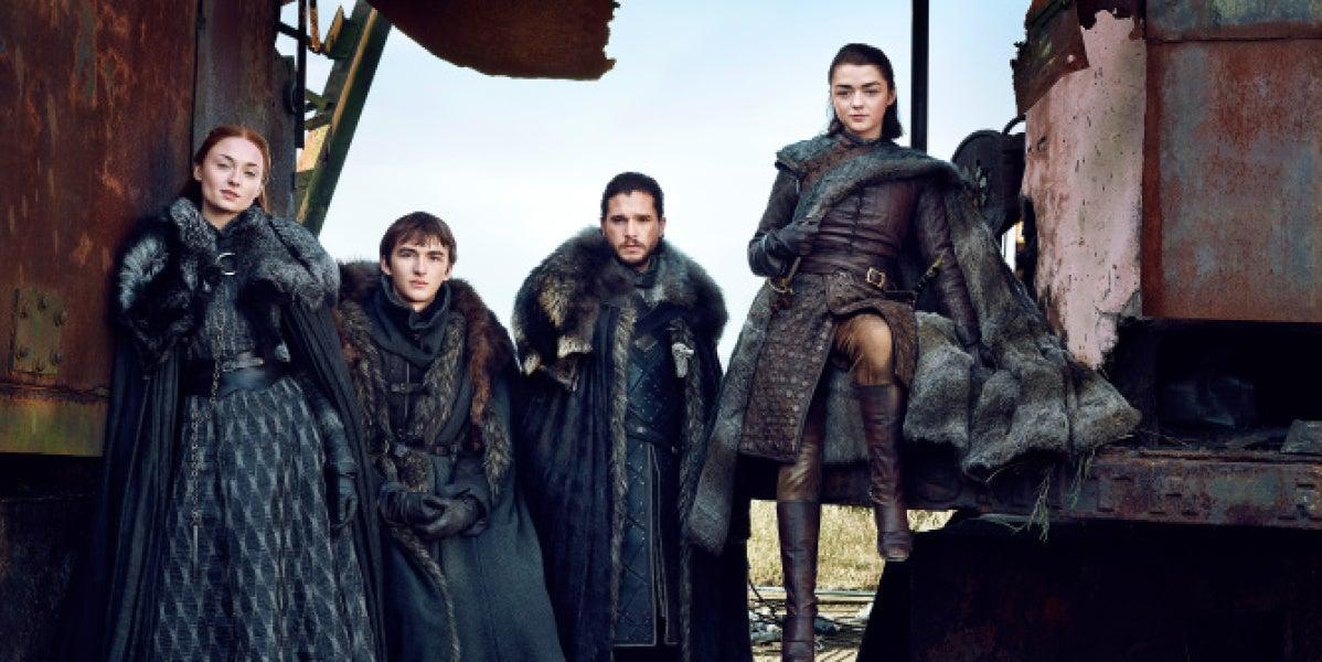 Los supervivientes de la casa Stark en 'Juego de Tronos'