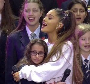 Concierto solidario de Ariana Grande en Manchester