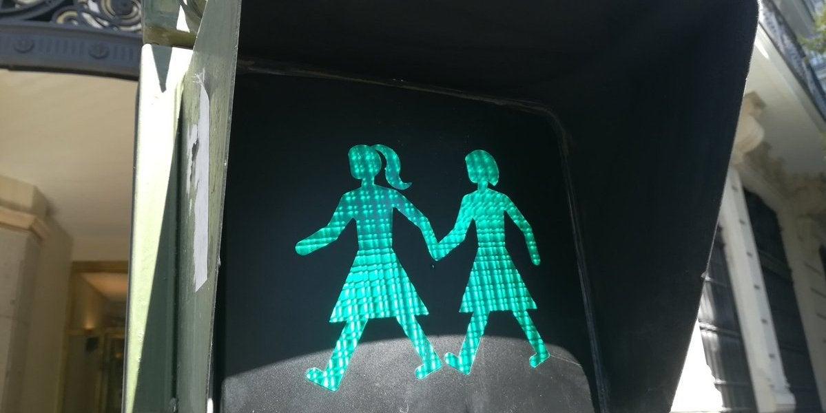 Semáforos LGTB en Madrid