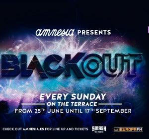 Fiesta Black Out en Amnesia Ibiza
