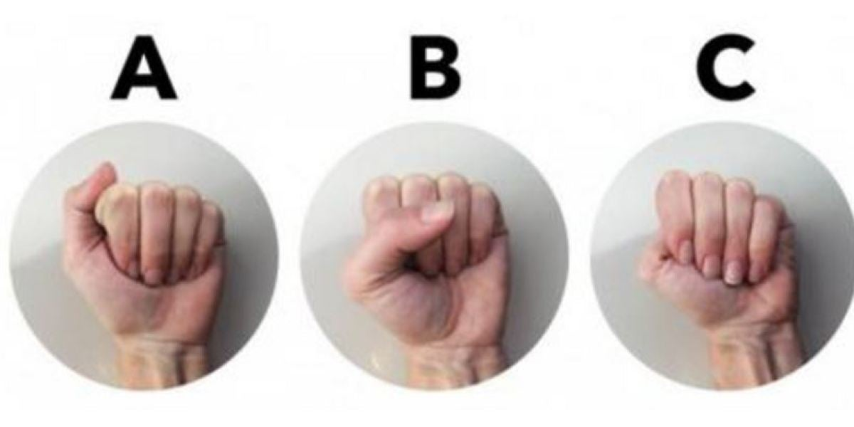¿Cómo cierras el puño?