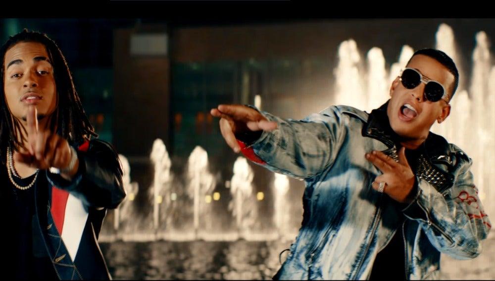 Ozuna y Daddy Yankee en 'La Rompe Corazones'