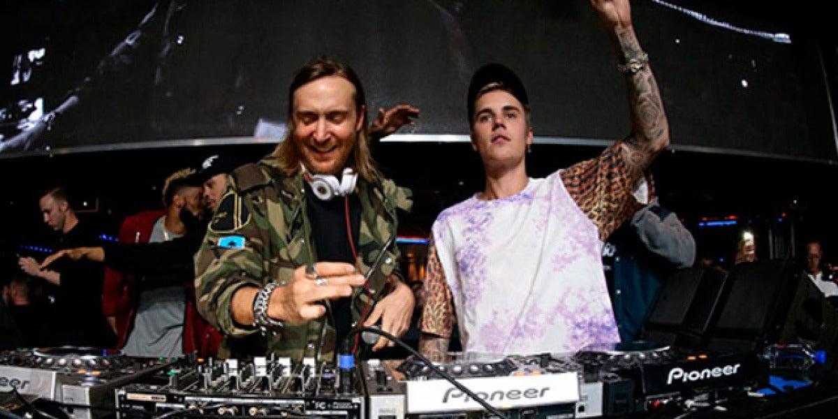 David Guetta y Justin Bieber