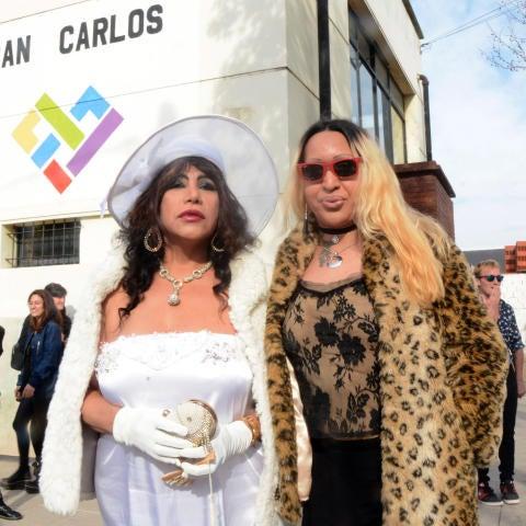 Dos mujeres transexuales contraen matrimonio en Argentina