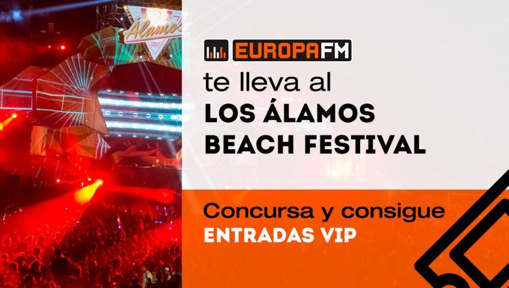 Gana entradas VIP dobles para Los Álamos Beach Festival