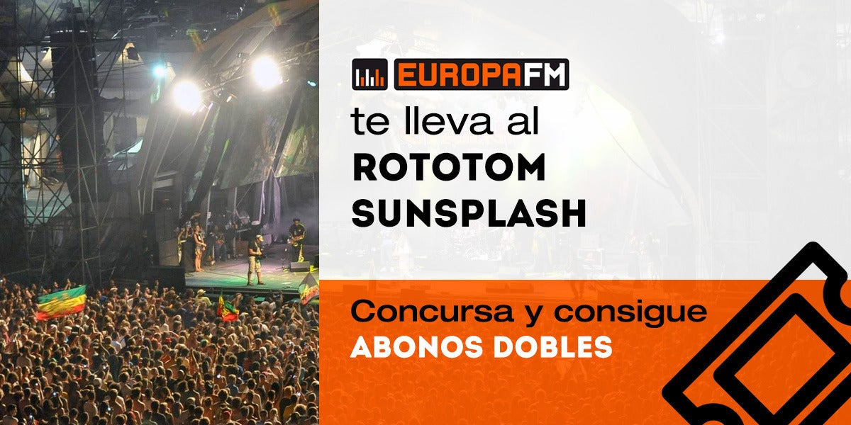 Consigue abonos dobles para Rototom Sunsplash 2017