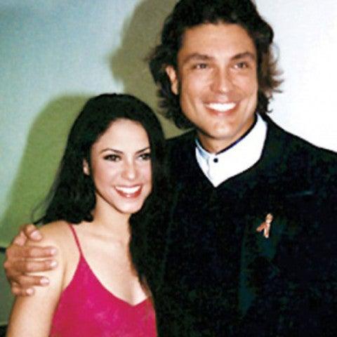 Shakira y Osvaldo Ríos (1997)