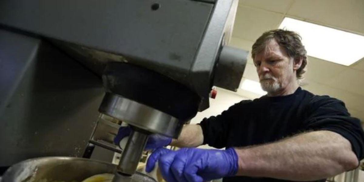 Jack Phillips, el pastelero que se negó a hacer una tarta de bodas para una pareja gay