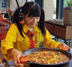 Moeazu, la japonesa que se come 11 paellas en 3 días