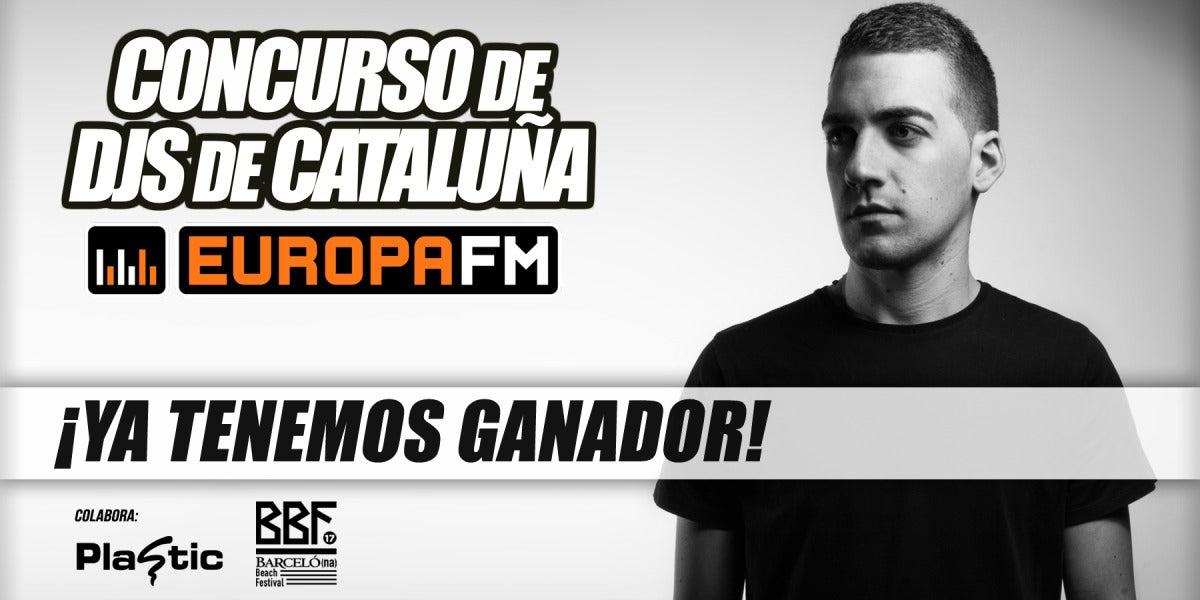 Ganador del I Concurso de DJs de Europa FM