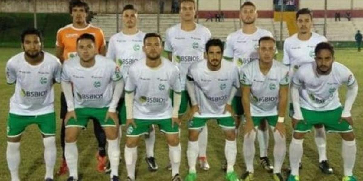 Los jugadores del Sport Club Gaúcho